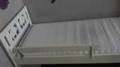 lit enfant blanc 50 Persan (95)