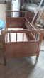 Lit d'enfant en bois à barreaux Mobilier enfants