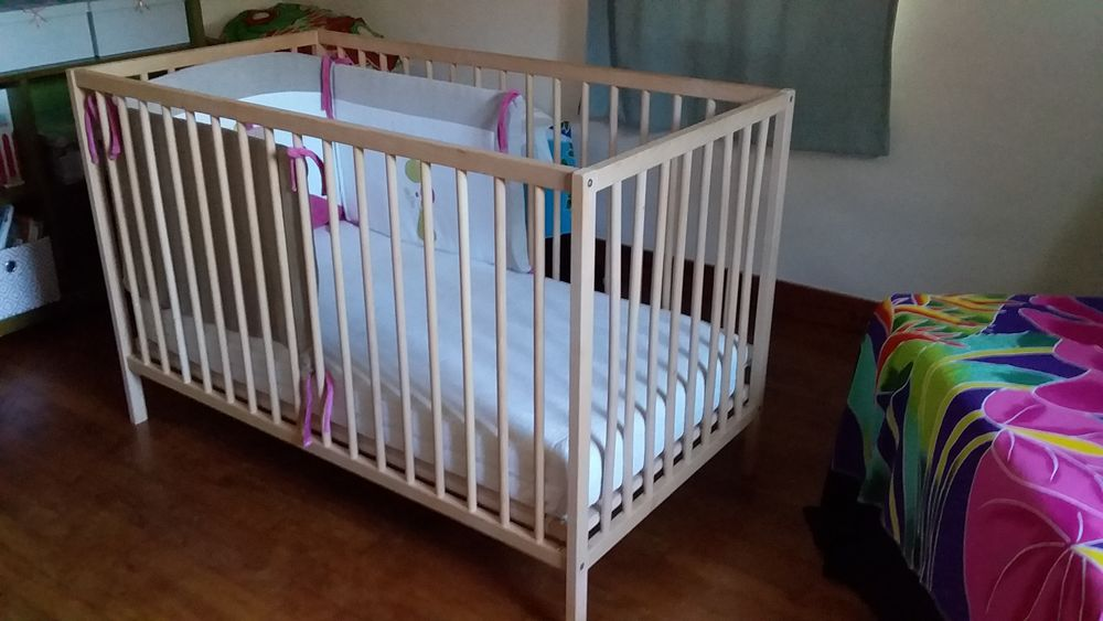 lit enfant en bois naturel 40 Guérande (44)
