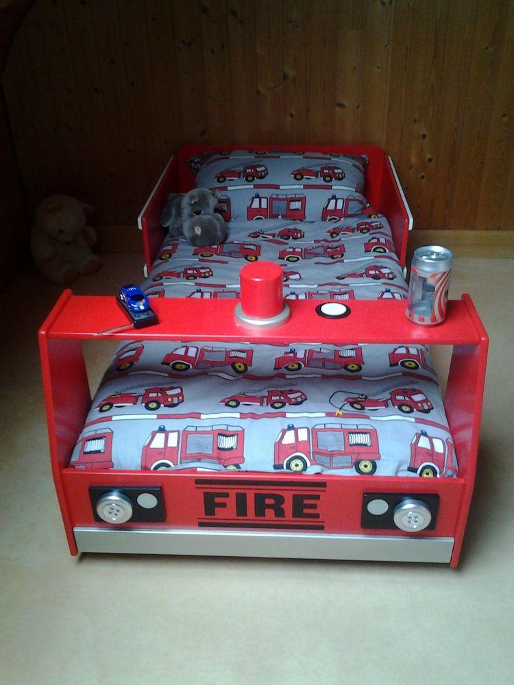 lit enfant camion de pompier 180 Gironville-sur-Essonne (91)