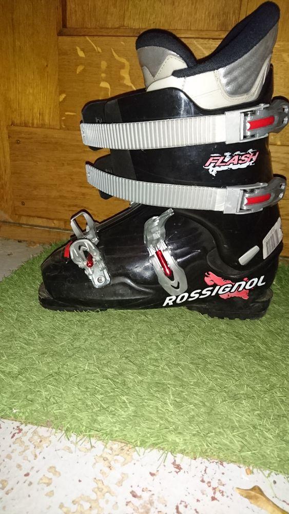 Ski enfant+ chaussures Rossignol 75 Villeurbanne (69)