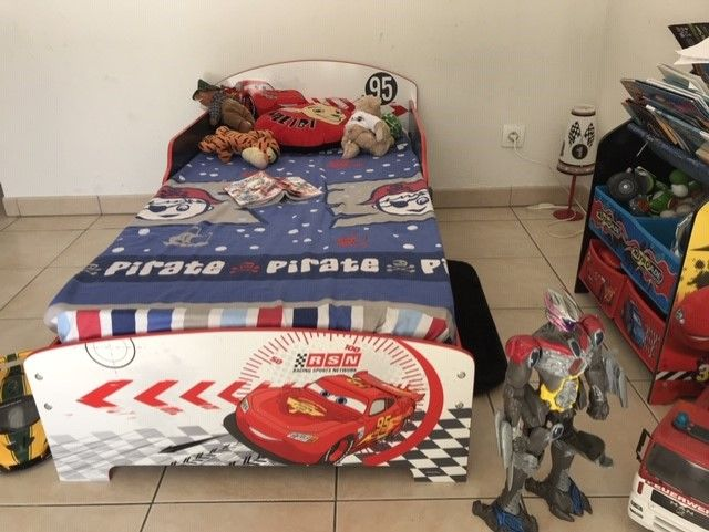 Lit enfant Disney Cars 126 Toulouse (31)