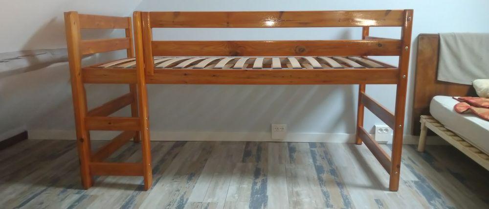 lit enfant haut une place avec rangement 40 Argenteuil (95)