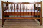 Lit d'enfant + linges de lit 100 Mons-en-Barœul (59)