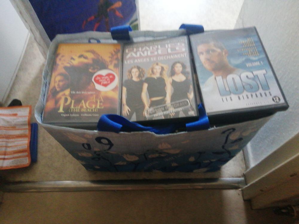 Lot de 290 DVD, enfant, marvel, horreur, action DVD et blu-ray