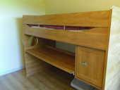 lit mezzanine occasion dans l 39 essonne 91 annonces achat et vente de lits mezzanine. Black Bedroom Furniture Sets. Home Design Ideas