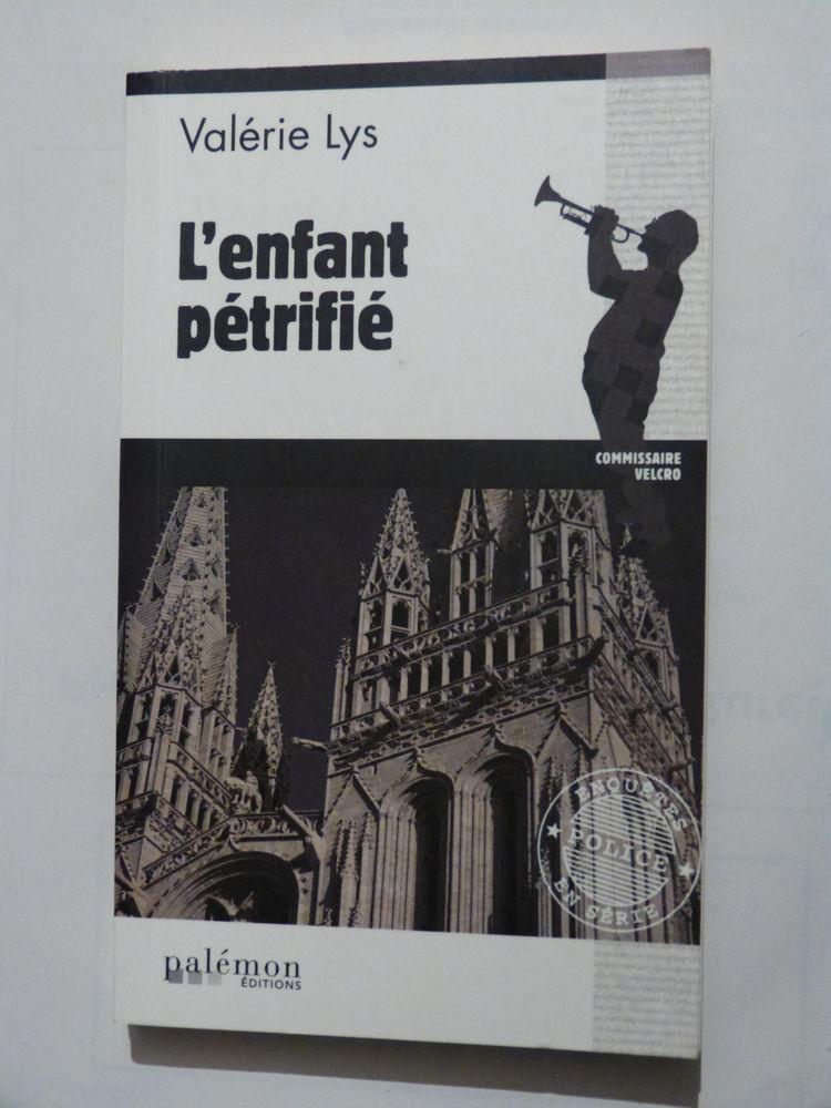 L' ENFANT PETRIFIE  roman policier  PALEMON 3 Brest (29)