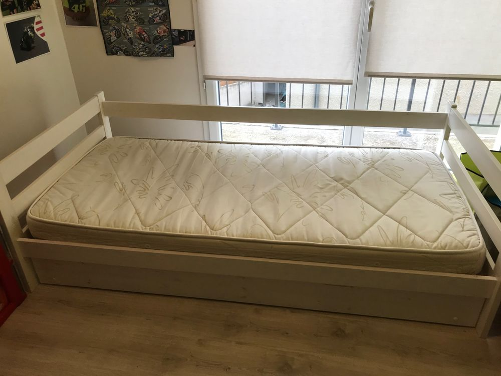 lit enfant 90 X190 avec rangement 2 eme sommier en dessous  80 Jassans-Riottier (01)