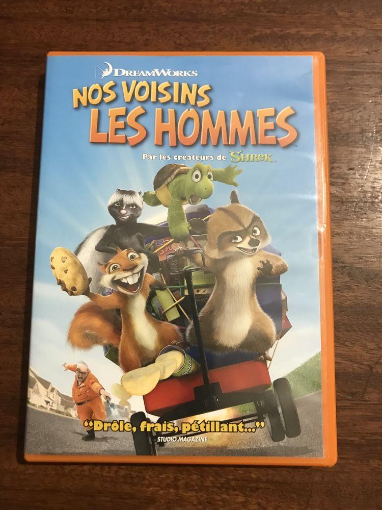 DVD enfants ´´ Nos voisins les hommes ´´ 3 Saleilles (66)