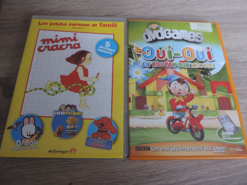 DVD ENFANTS 4 La Chapelle-Basse-Mer (44)