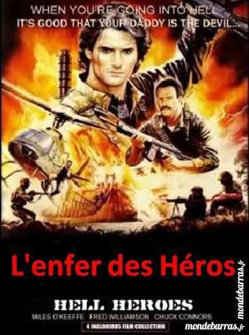 K7 Vhs: L'enfer des héros (199) DVD et blu-ray