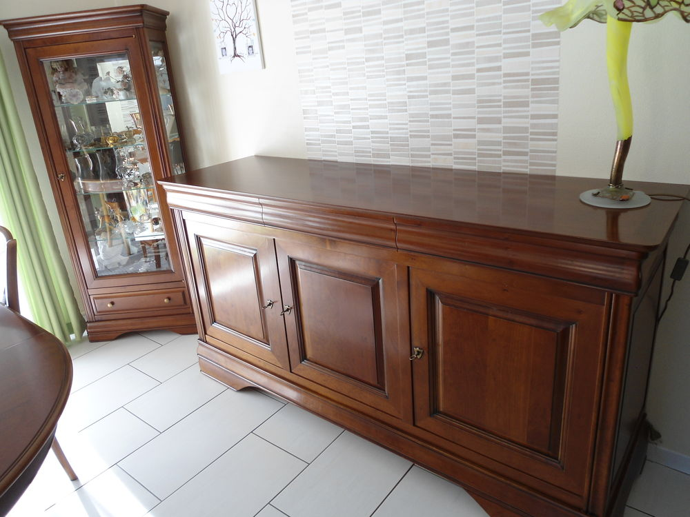 Enfilade 3 portes, 3 tiroirs, style Louis Philippe 2000 Wisches (67)