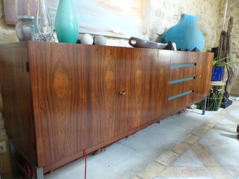 Enfilade vintage, palissandre  moderniste 1300 Charleval (13)