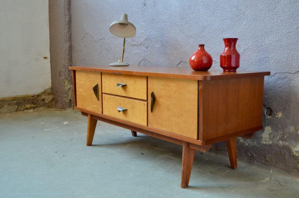 Enfilade vintage scandinave meuble bas télé hifi tv  0 Wintzenheim (68)