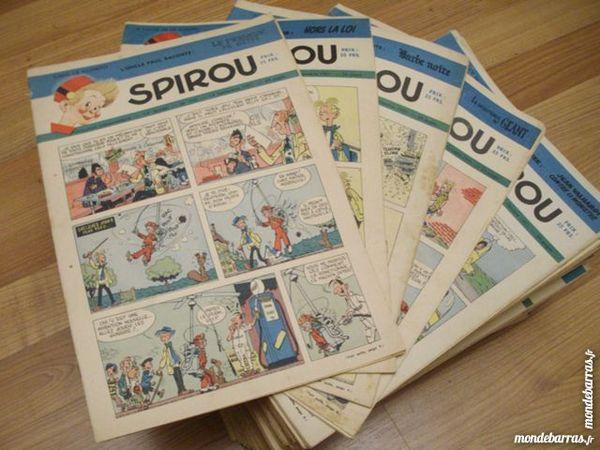 Énormément d'Hebdos SPIROU & Suppléments (DUPUIS) 1 Esvres (37)