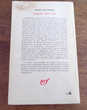 Enquêtes 1937-1952 Jorge Luis Borges Gallimard nrf 1978 Livres et BD