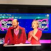 DVD enregistré télé QUIZZ  LES ENFOIRES EN CHOEURS  5 Saint-Etienne (42)