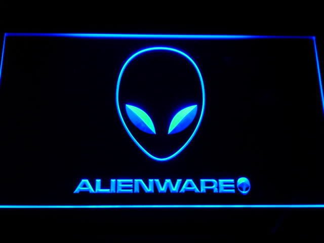 Enseigne lumineuse Alienware 40 Nancy (54)