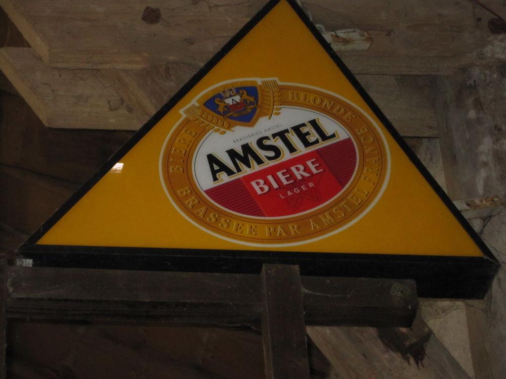 Enseigne lumineuse   AMSTEL  0 Grand-Failly (54)