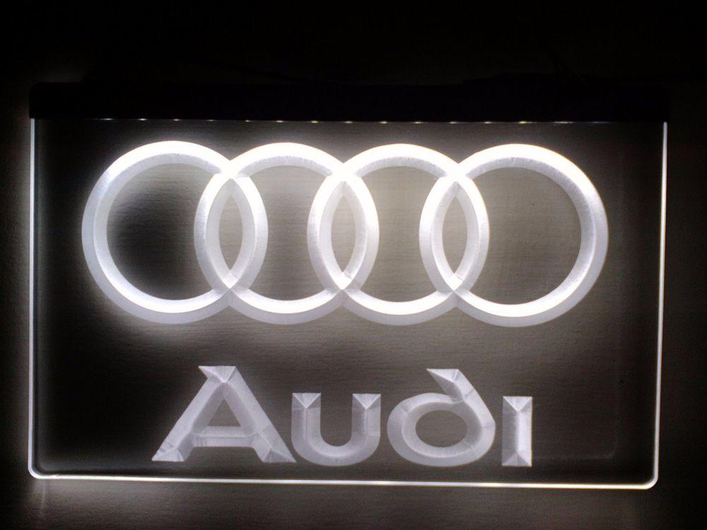 Enseigne lumineuse Audi 40 Nancy (54)