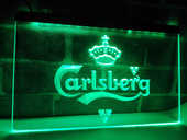 Enseigne lumineuse Carlsberg 40 Nancy (54)