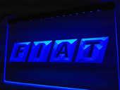 Enseigne lumineuse Fiat 40 Nancy (54)