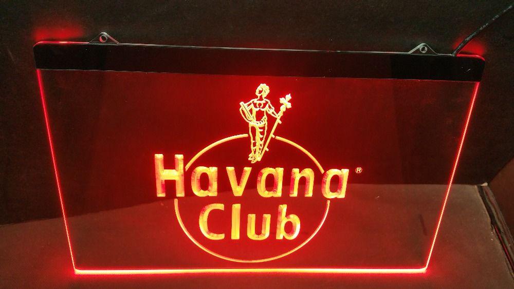 Enseigne lumineuse Havana Club 40 Nancy (54)