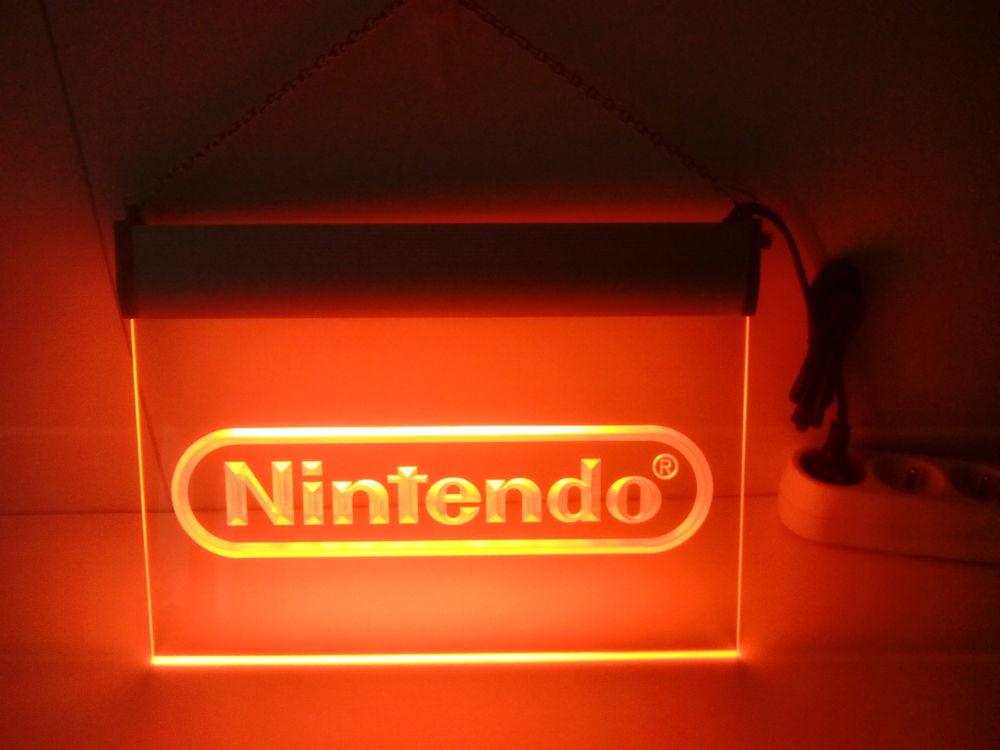 Enseigne lumineuse Nintendo 40 Nancy (54)