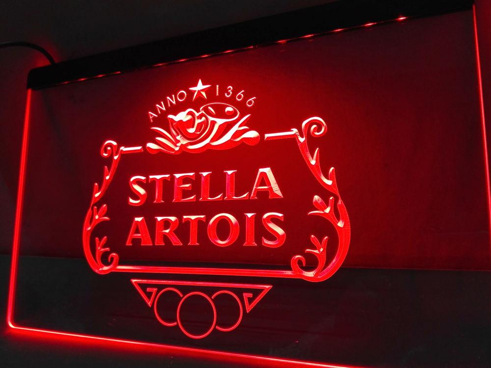 Enseigne lumineuse Stella Artois 40 Nancy (54)