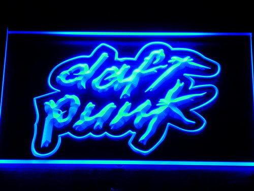 Enseigne lumineuse vintage collector Daft Punk 40 Nancy (54)