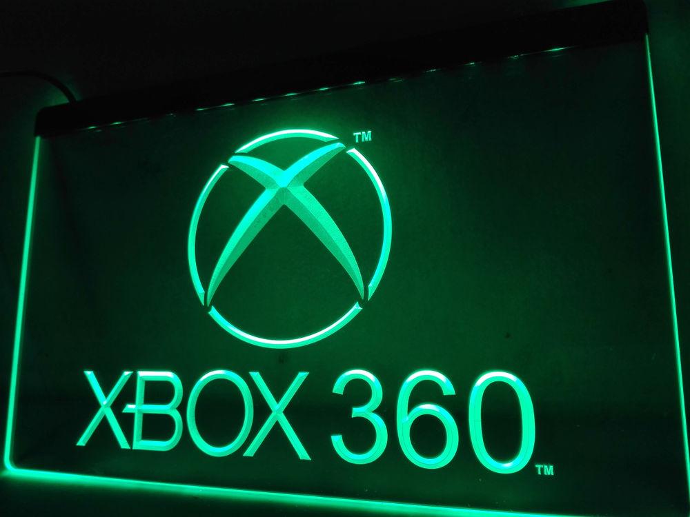 Enseigne lumineuse Xbox 360 40 Nancy (54)