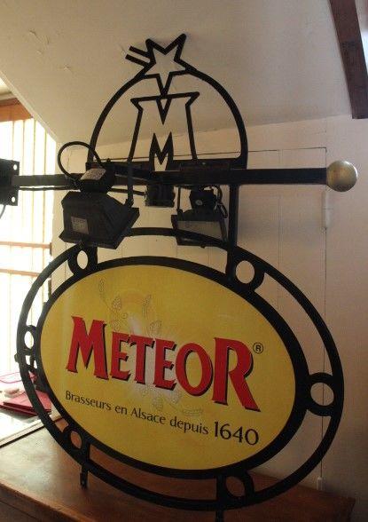 enseigne METEOR en très bonne état 150 Angers (49)