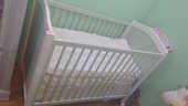 Ensemble lit bébé avec armoire très bon état 250 Persan (95)