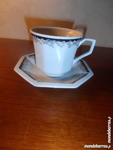 Ensemble à café octogonal (31) 12 Tours (37)