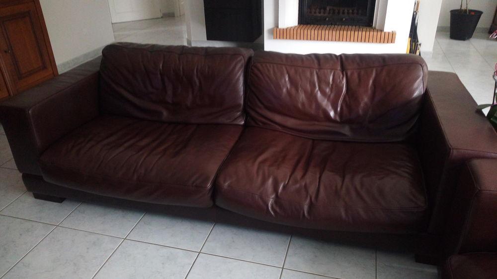 ensemble canapé cuir  450 Saiguède (31)