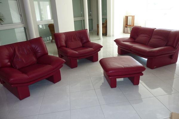 Achetez Ensemble Canapé Quasi Neuf Annonce Vente à SaintGeorges - Canapé fauteuil cuir