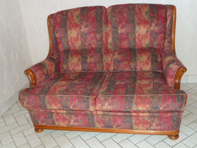 Bel ensemble canapé et 2 fauteuils tissu  HAUT DE GAMME 200 Le Mans (72)