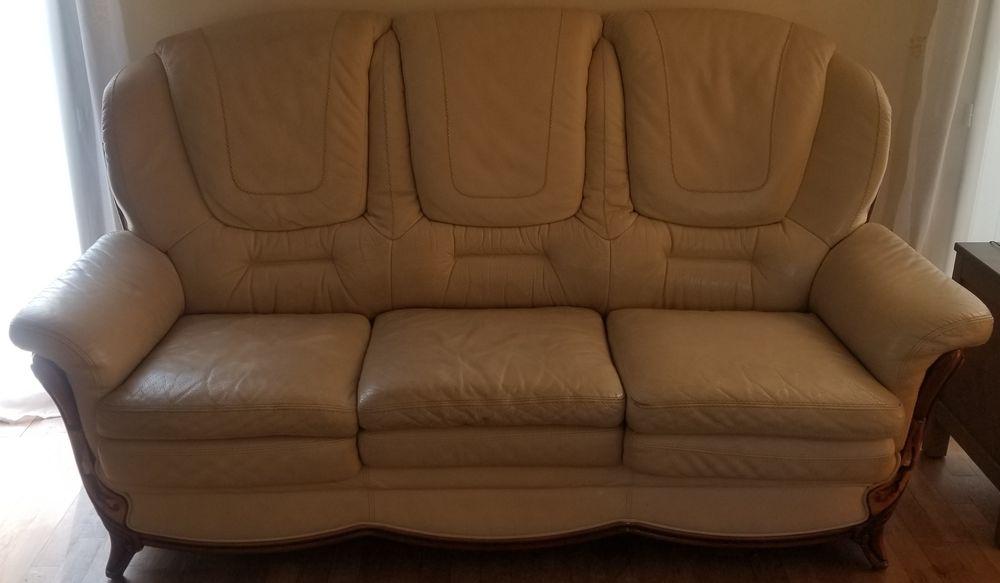 ensemble canapé 3 places + fauteuil 1 place en cuir 200 Vernon (27)