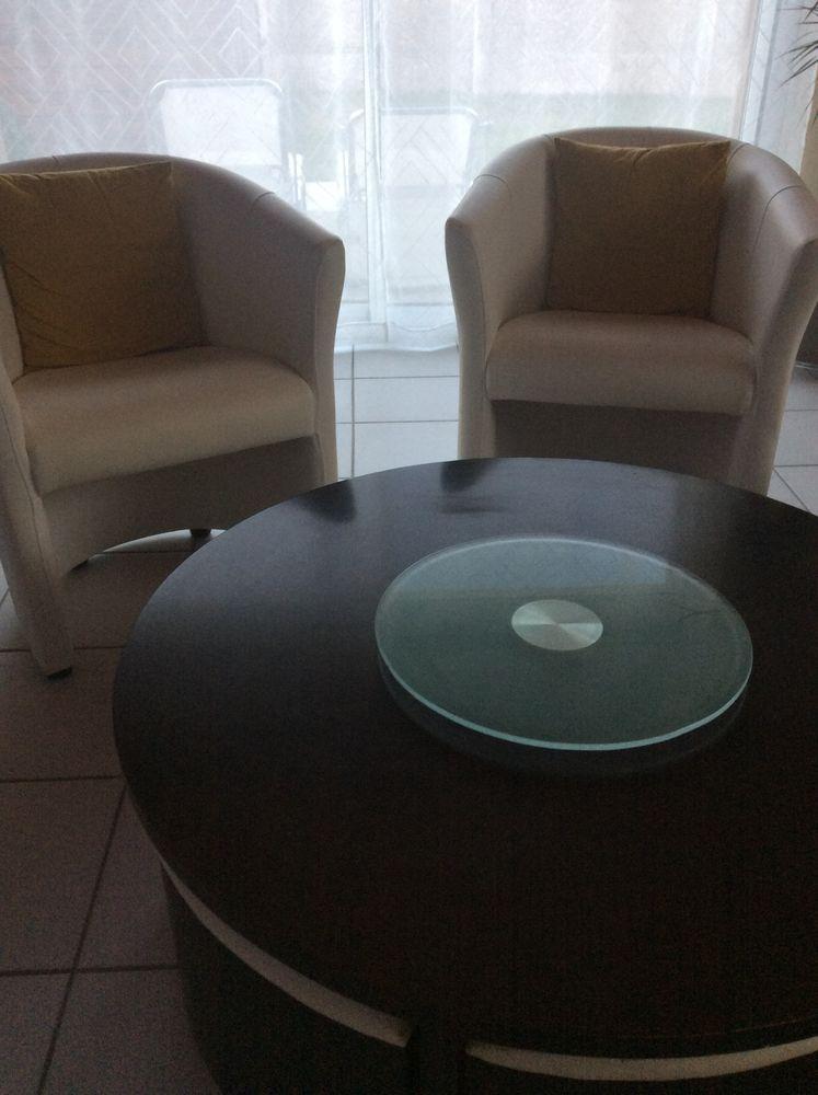 ensemble canapé table fauteuil  440 Fougères (35)