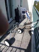 ensemble chariot et matériel de golf 180 L'Isle-Adam (95)