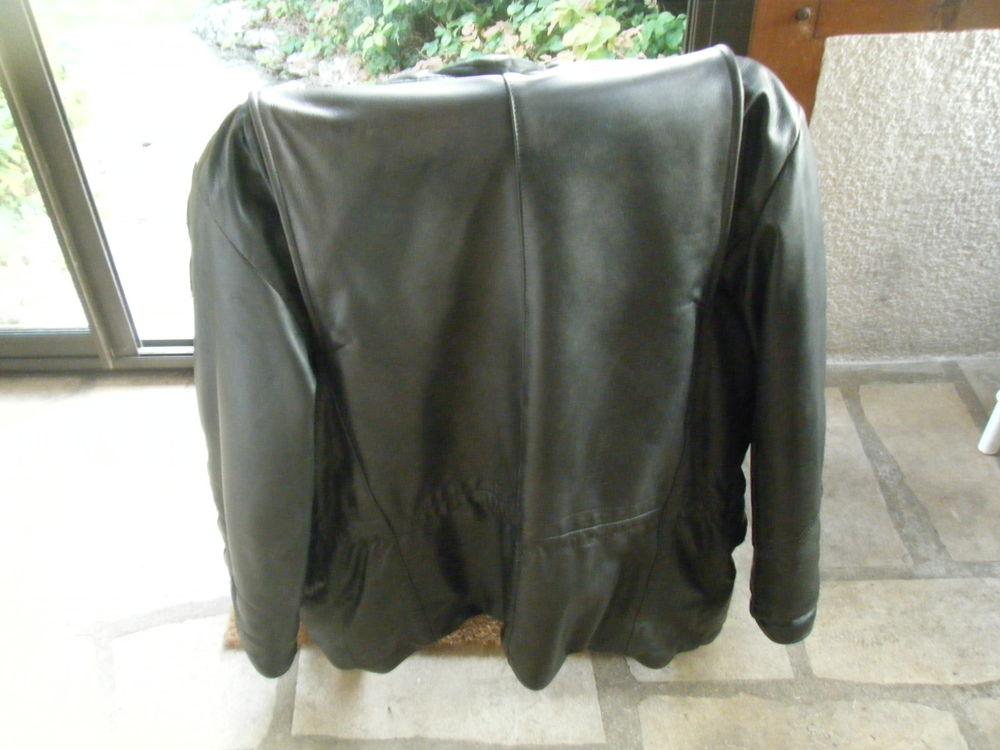 ensemble cuir noir moto Daytona 99 Saint-Claude-de-Diray (41)