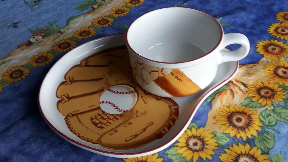Ensemble déjeuner -  Décor Baseball 15 Montauban (82)