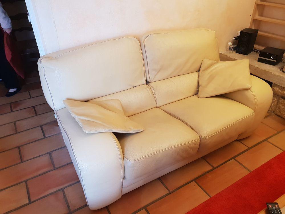 ensemble deux canapés cuir (origine cuir center) 0 Fabrègues (34)