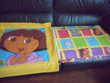 ensemble Dora explorer (drap ,housse couette, enveloppe)