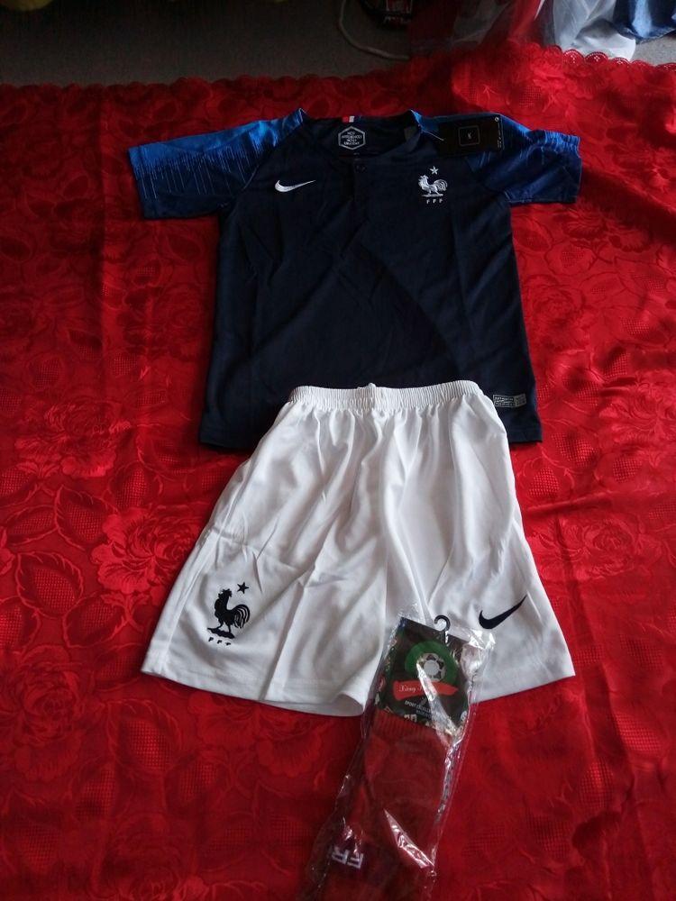 ensemble enfant maillot de foot Coupe du Monde 2018 49 Annecy-le-Vieux (74)