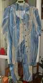 Ensemble Femme ultra léger motifs bleutés.Taille 1 25 Montreuil (93)