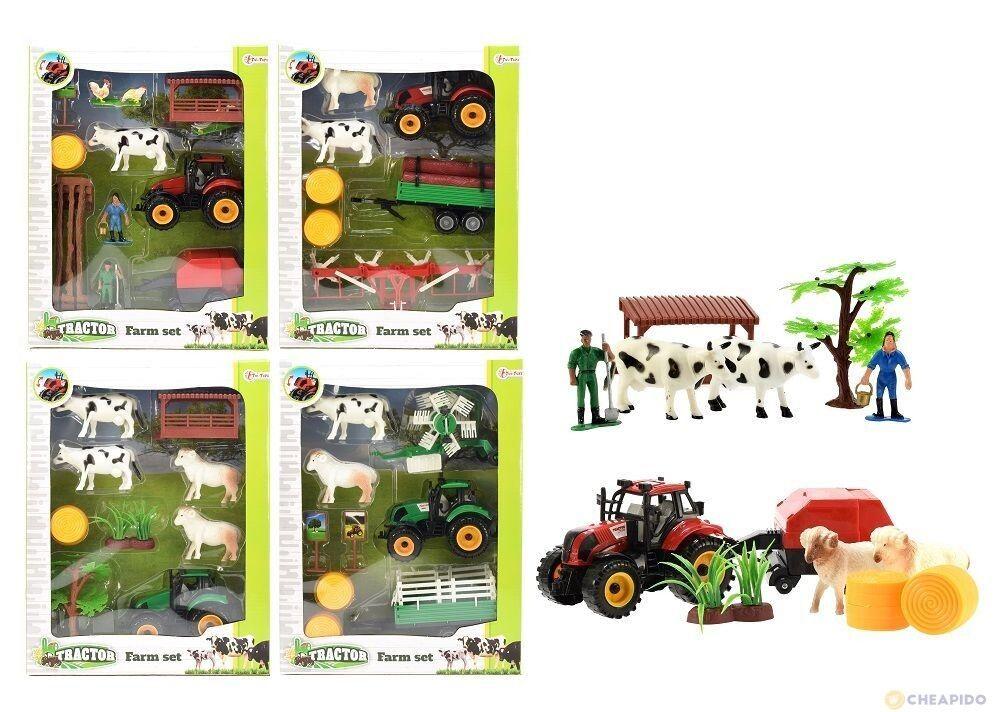 ensemble de ferme avec tracteur et animaux 8 Valentigney (25)