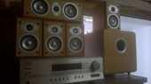 Ensemble Home-Cinema Jamo + Ampli tuner Onkyo 250 Abbeville (80)