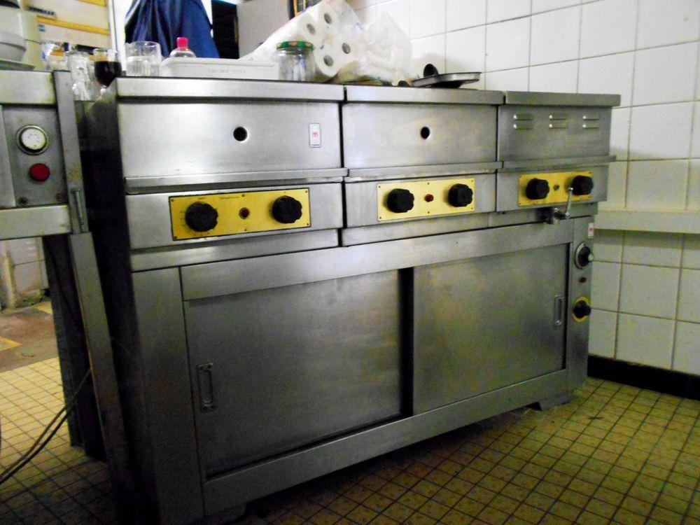 ensemble inox cuisine pro 220volt marque MORICE  1700 Monflanquin (47)