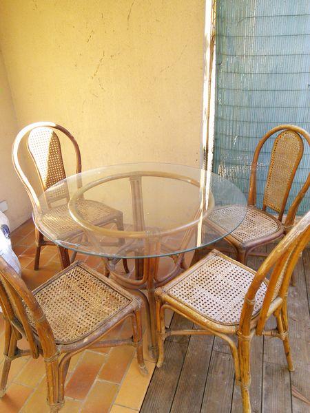 Achetez ensemble de jardin occasion annonce vente nice 06 wb149219352 - Chaise de jardin nice ...